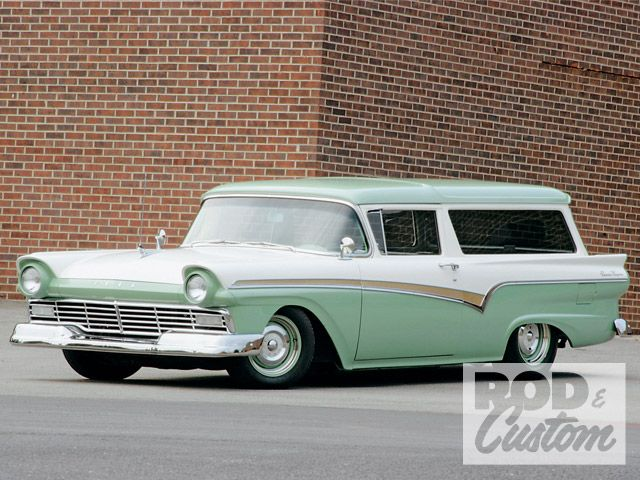 1957 Ford Ranch Wagon...For the best in car care products, click here: http://johnbellblog.com