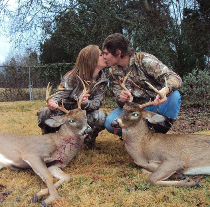 We are the best hunting couple