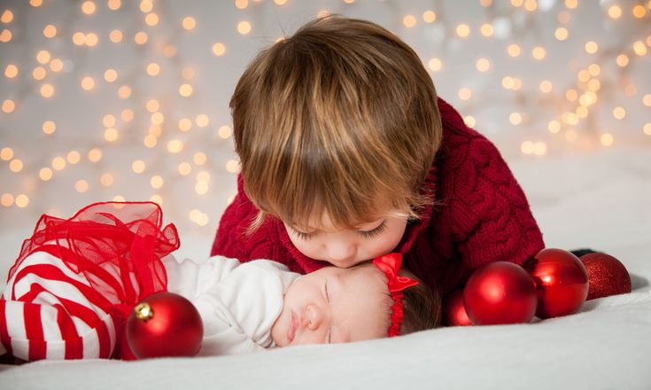 Christmas Sibling Love by Michael DeMicco on 500px