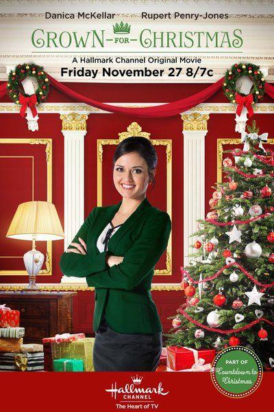 """Hallmark Channel: """"Crown for Christmas"""" (2015)   #christmasmovies #christmas"""