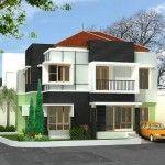 koleksi terbaru model rumah modern sederhana yang unik dan cantik siap dihuni oleh keluarga anda baik 1 lantai maupun 2 lantai dengan nuansa klasik
