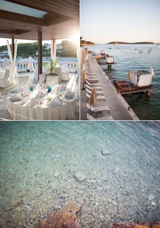 Tranquil Waters ✈ A destination wedding in Hvar, Croatia