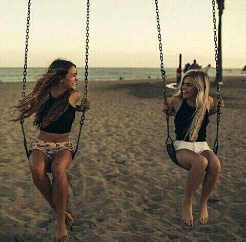 grafika beach, friends, and summer