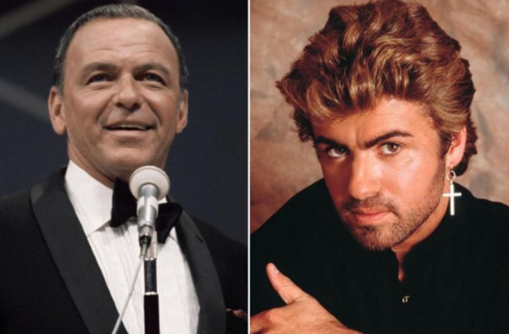 Frank Sinatra once wrote to George Michael at the height of his fame, telling him to 'loosen up'
