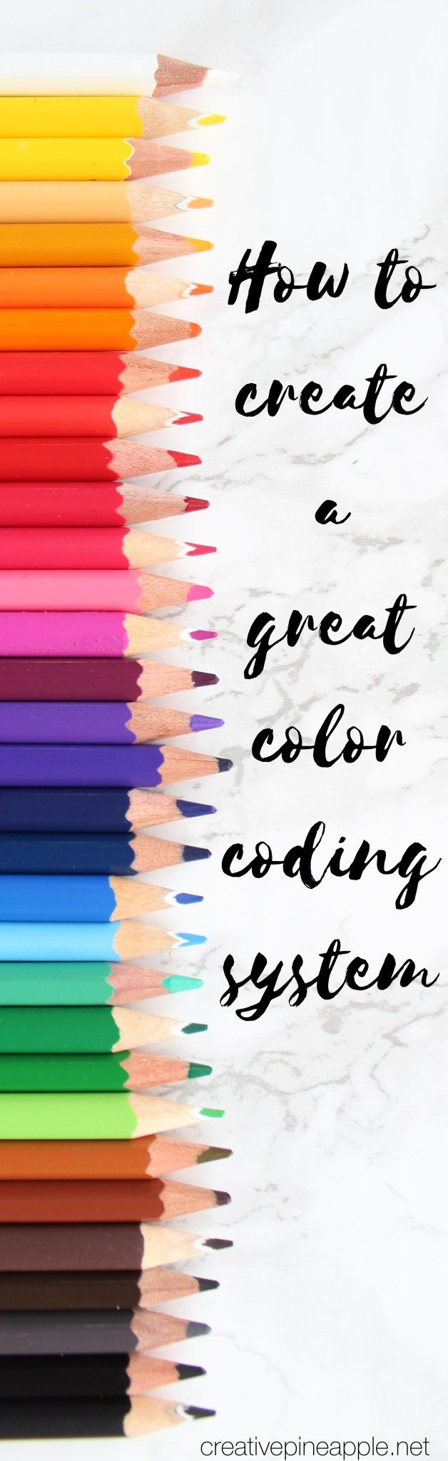 Create a great color coding system for your planner. Read more at…