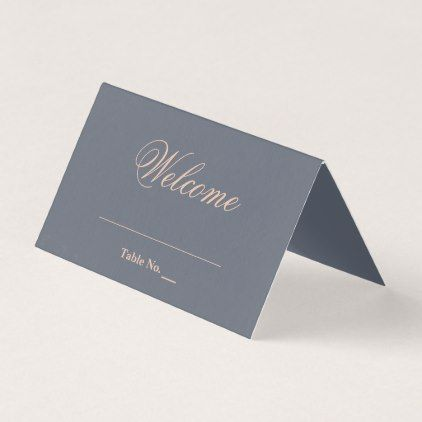 Formal Elegant Typography Wedding Place Card - script gifts template templates diy customize personalize special