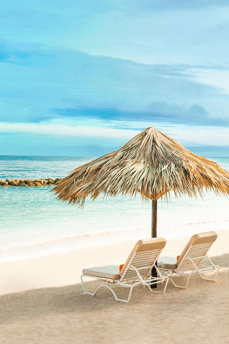 Do you like long walks on the beach? You do when you're on vacation in Jamaica.