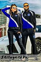 Спортивный костюм мужской и женский Челси синий 4875