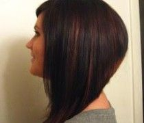 medium to long a line haircuts - Google Search