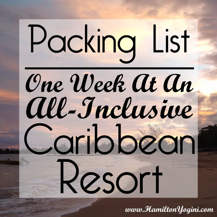 This detailed packing list will break down everything you need to bring on vacation to an All-Inclusive Resort. My experience was a week in Jamaica, but any short, tropical vacation would need the …