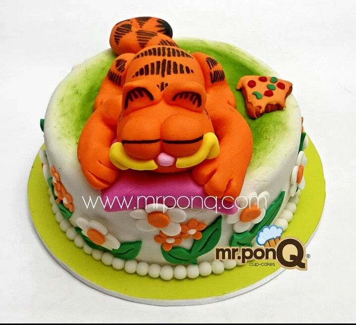 Torta con Garfield.mr.ponQ