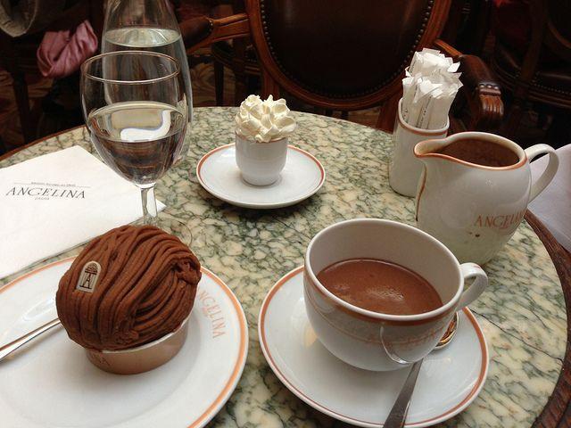Top 5 des chocolats chauds à Paris