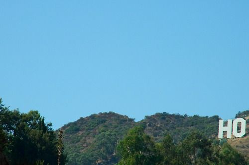 Hollywood Sign by Terry Richardson