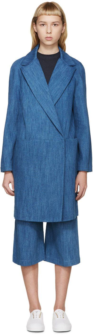 Atea Oceanie - Blue Denim Coat                                                                                                                                                                                 More