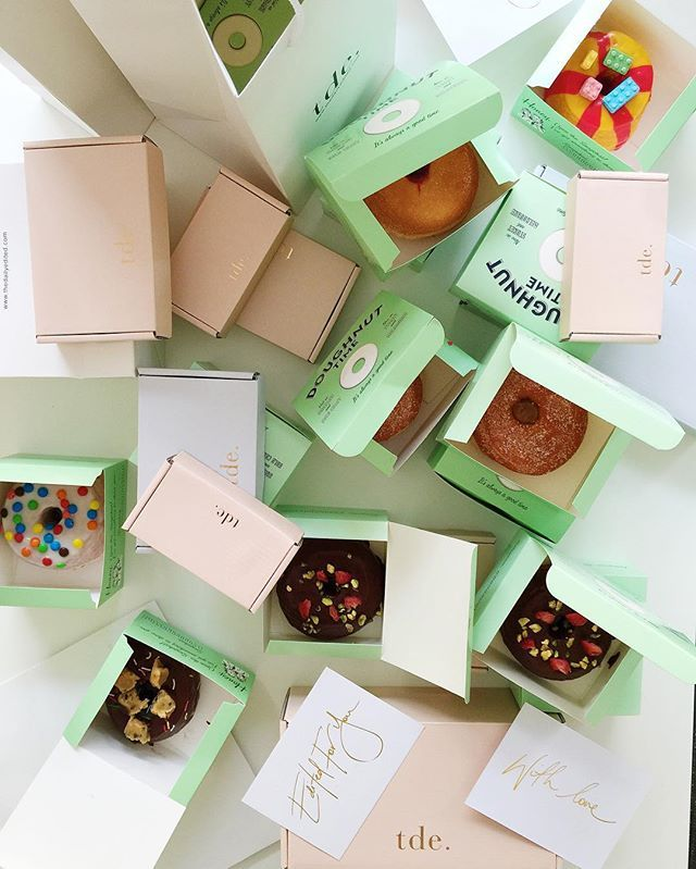 Celebrating national doughnut day with @doughnut_time all same day orders will be delivered with doughnuts (select same day delivery at checkout till 1pm sydney metro only)