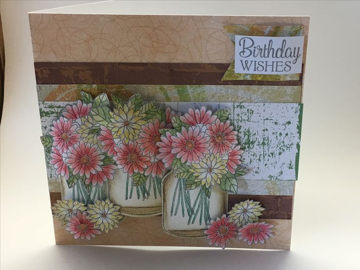 Card made using free stamps and dies from a magazine