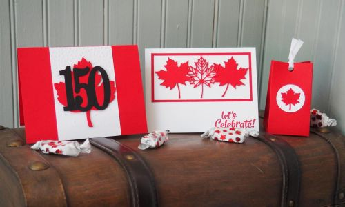 Canada 150 cards by Karen Carvell