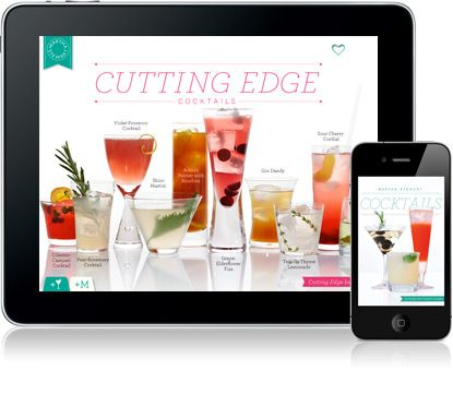Great phone/iPad app for tons of signature cocktail ideas!