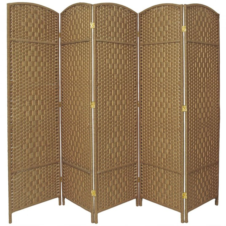Room Dividers.com Part - 16: Tall Diamond Weave Fiber Room Divider | RoomDividers.com