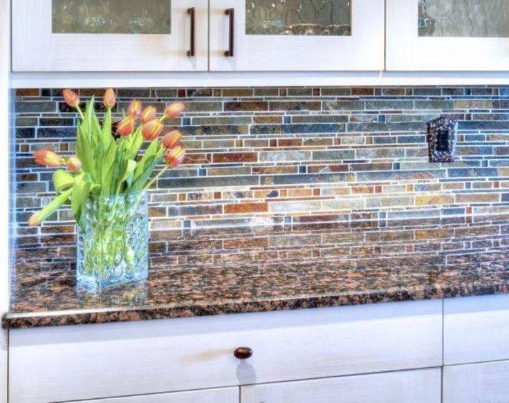 Kitchen Glass Mosaic Backsplash