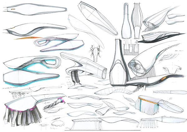 Vacuum Duster Dustroyer: Design Concept Sketch on Behance