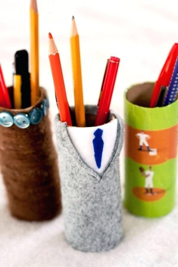 Office Pen Holder 3d Stationary Hanging Pencil Holder Creative Pen