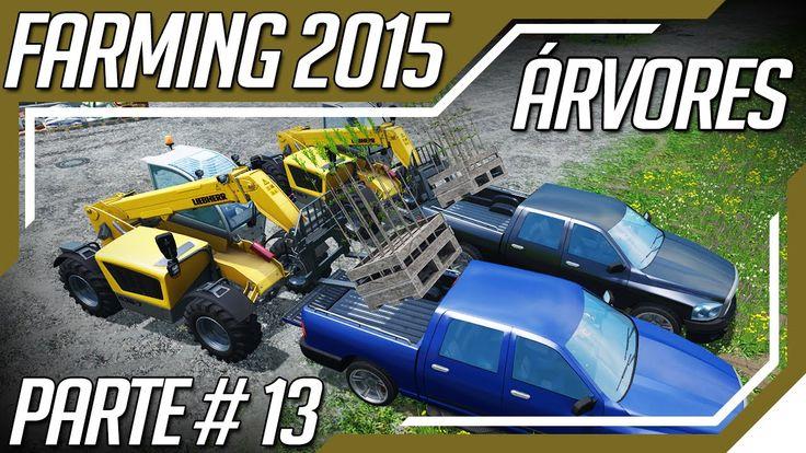 Farming Simulator 2015 - Comprando e Plantando Árvores