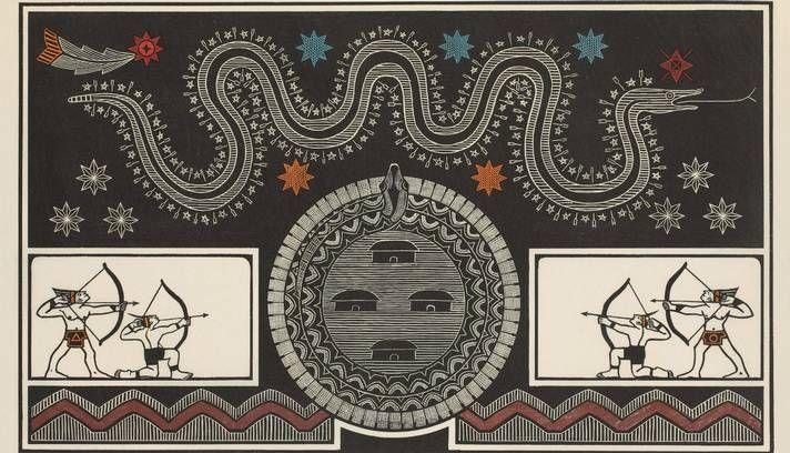 """Samico, """"Via Láctea - Constelação da serpente"""" (2005), Samico."""