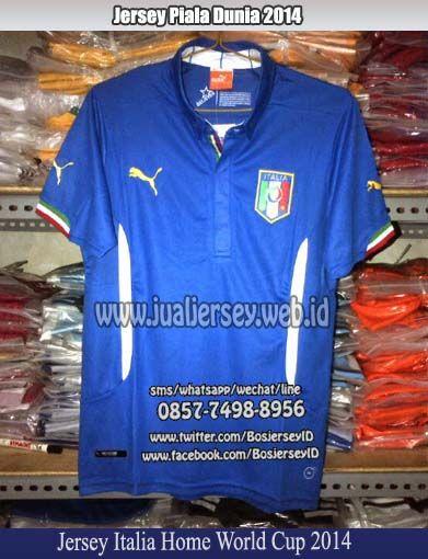 Jersey Italia 2014 Home | Jersey Italia Piala Dunia 2014