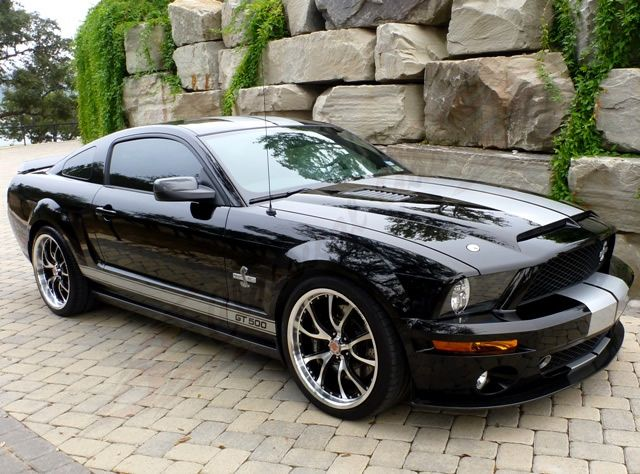 2007 Mustang Shelby GT 500