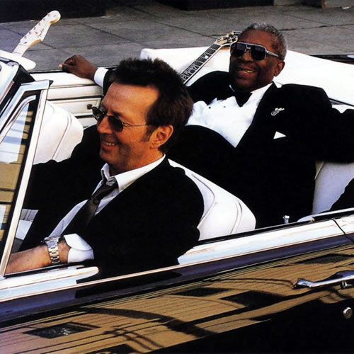 Picture of B.B. King & Eric Clapton .. love this album