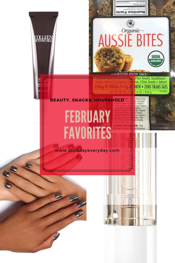 Come check out my February favorites. There's some beauty, snacks and household items! #February #myfavorites #favorite