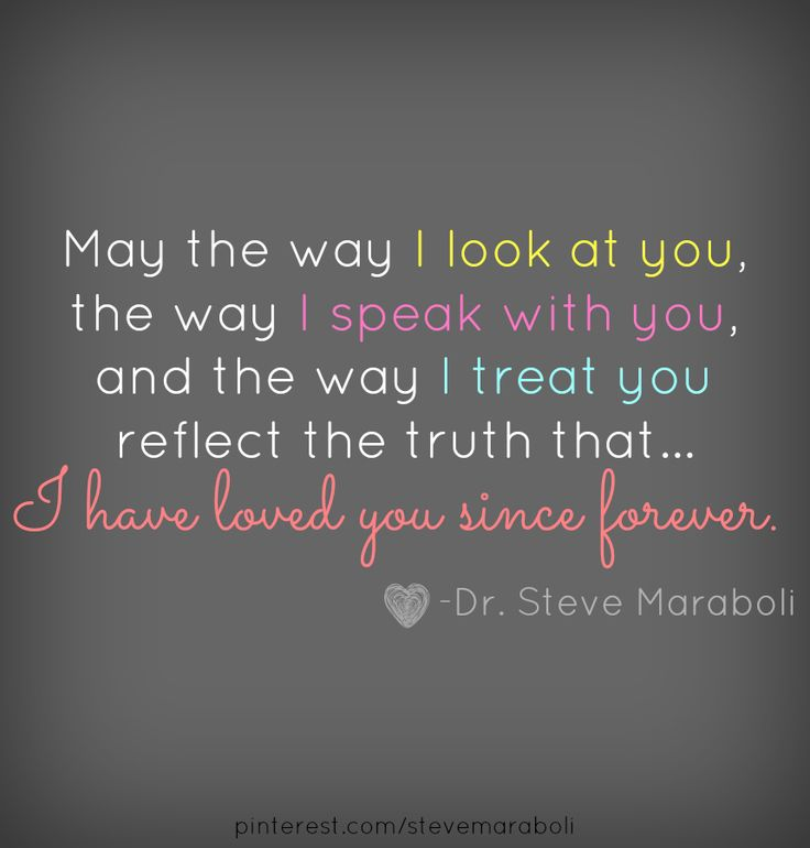... I have loved you since forever #quote