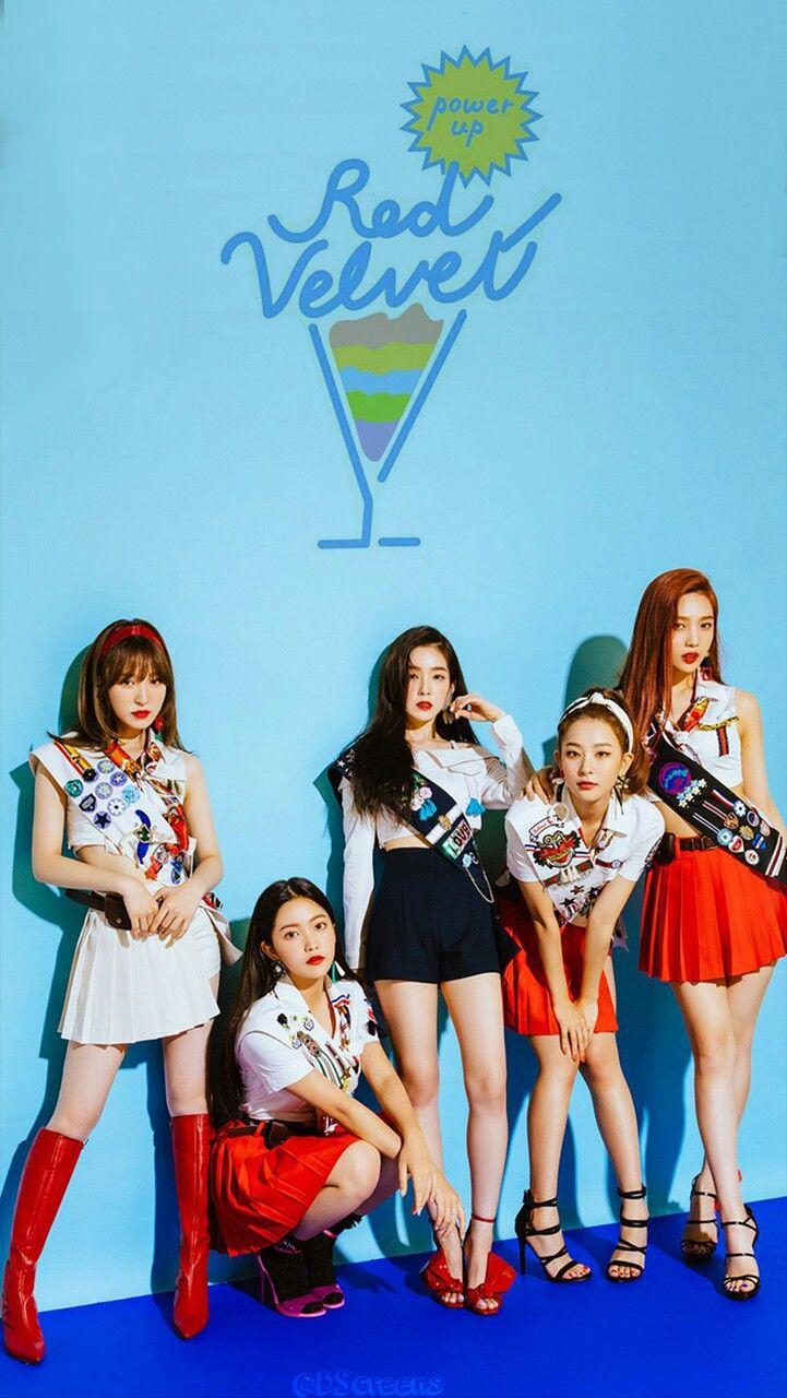 Red Velvet Seulgi Irene Wendy Yeri Joy Wallpaper Lockscreen Hd Fondo De Pantalla Iphone Power Up The Cheetah Girls Red Velvet Irene Velvet Wallpaper