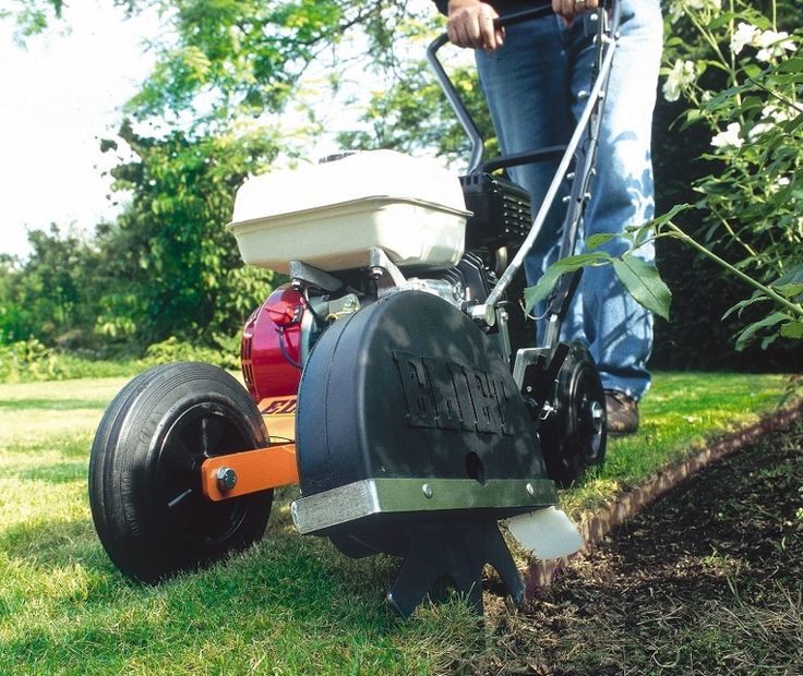 lawn edging machine
