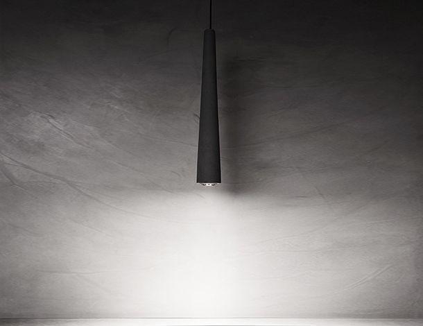 URBI et ORBI Ignis nox E27 max eco70 W concrete lamp E27 D 8cm H 59 cm designed by urbi et orbi 2015