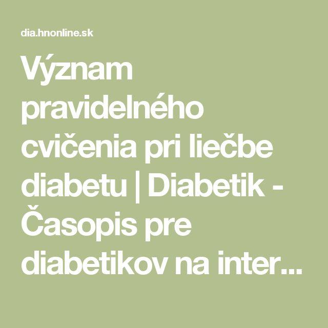Význam pravidelného cvičenia pri liečbe diabetu   Diabetik - Časopis pre diabetikov na internete