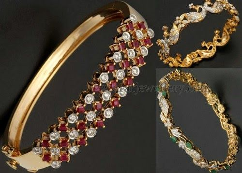 Jewellery Designs: Bangles From RB Jewellery