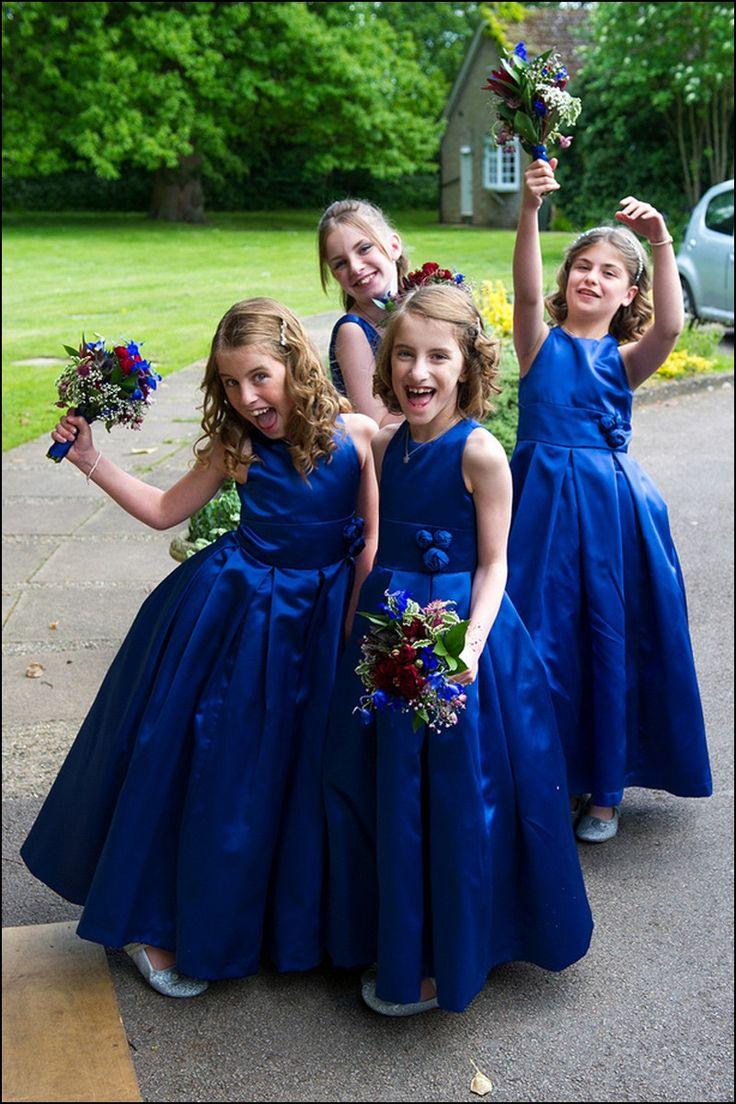 Tardis Blue Bridesmaid Dress