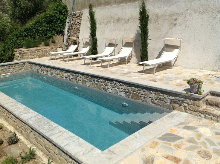 pool at Apricus Locanda Apricale Italy