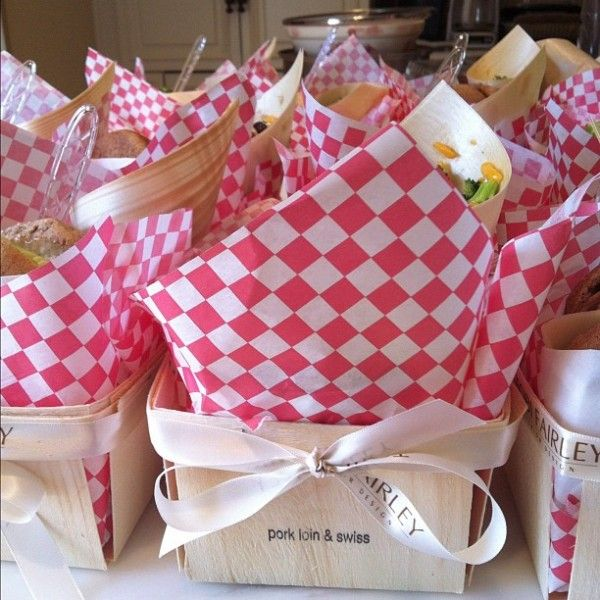 """We love our """"lunchboxes"""" from Palette Catering, here in Little Rock (a local gem!)"""