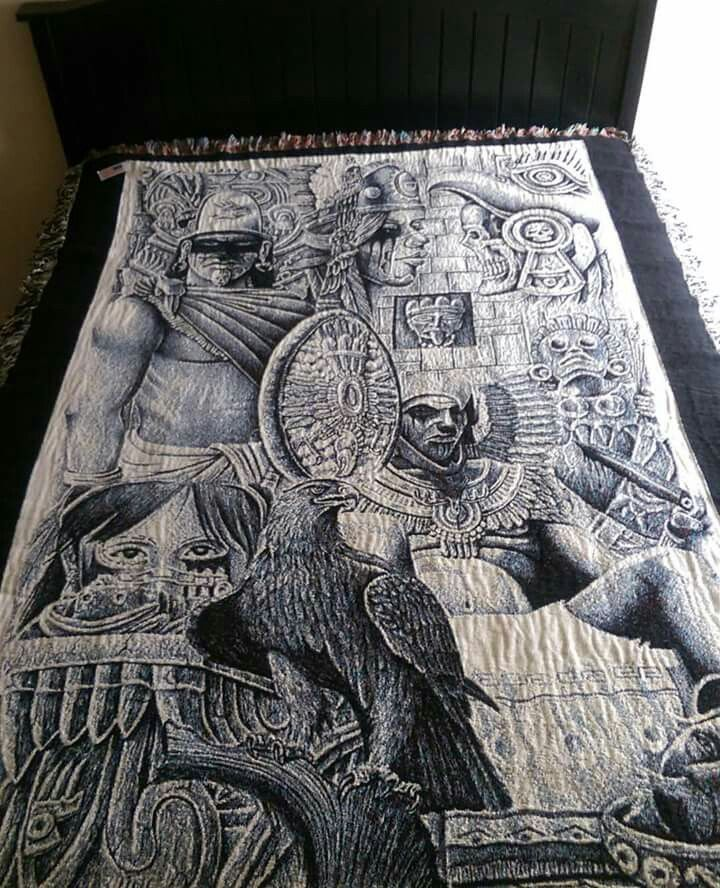 667 best aztec images on pinterest tattoo designs aztec for Aztec mural tattoos