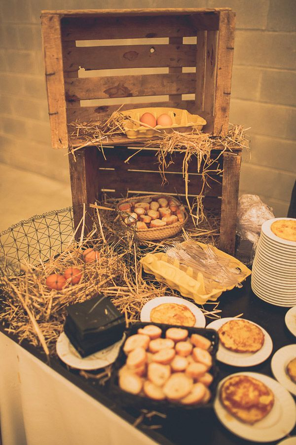 Showcooking de tortilla de BOKADO {Bodas de Cuento, The Wedding Designers / Foto, f2studio} #catering #weddingfood #bodas #weddings #tendenciasdebodas