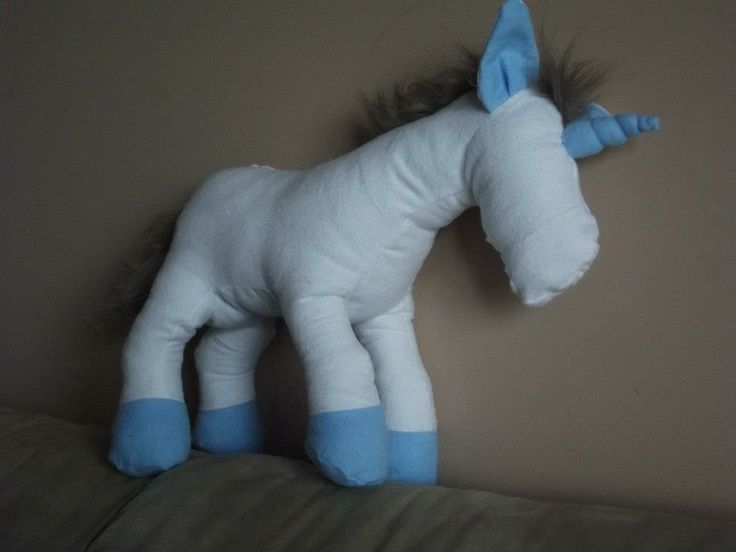Unix the Unicorn from the creative genius of Pauline at the Funky Friends Factory!