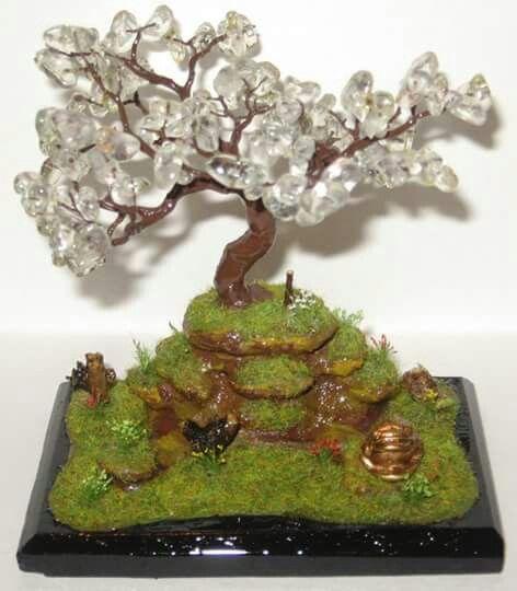 Diorama bonsai fantasy . 14