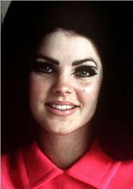 Priscilla Presley. N6YOS Priscilla Presley - Beaulieu is the famous ex-wife of Elvis Presley. http://www.google.com.au/search?hl=e...