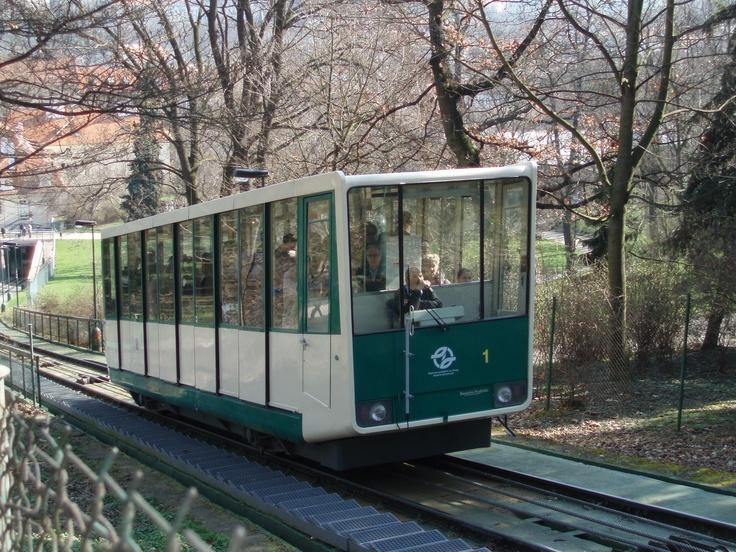 Česko, Praha-Petřín - Kolejová lanovka