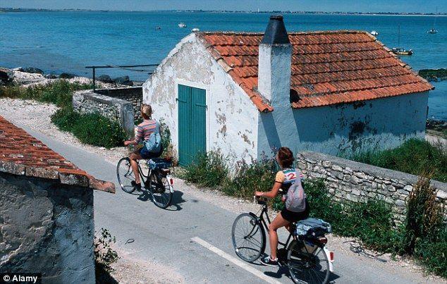 L' Ile de Re à bicyclette