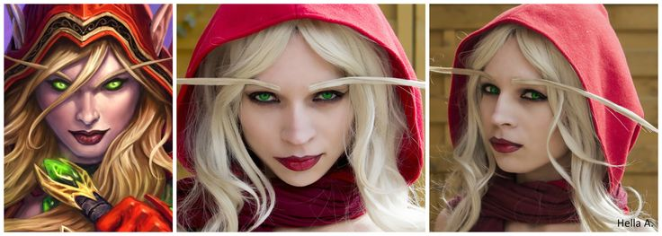 Valeera's Makeup; FaceBook page : http://tiny.pl/gmn5p  Instagram -> @hella_a_oficiall #makeup #facepait #cosplay #warcraft #hearthstone #worldofwarcraft