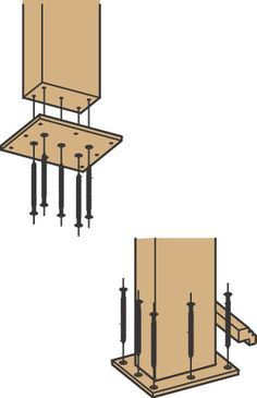 Best Way To Attach A Newel Post - Carpentry - Contractor Talk